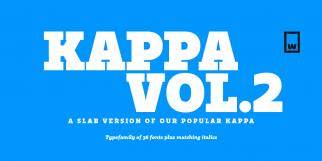 Kappa Vol. 2 (W Foundry)