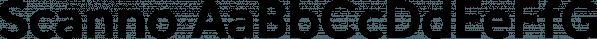 Scanno font family by Tarallo Design