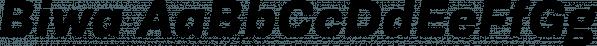 Biwa font family by Wordshape
