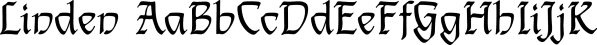 Linden font family by FontSite Inc.