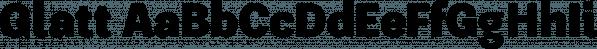 Glatt font family by W Foundry