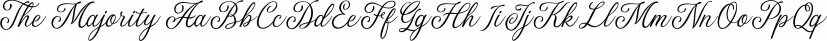 The Majority font family by Letterhend Studio