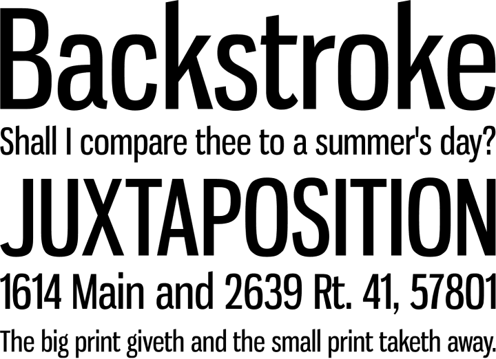Gnuolane Font Phrases