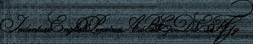 IndentureEnglishPenman font family by Intellecta Design