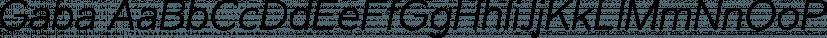 Gaba font family by Bumbum Type