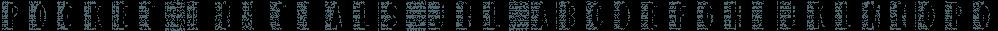 Pocket Initials JNL font family by Jeff Levine Fonts