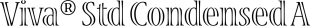 Viva® Std font family mini
