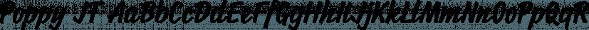 Poppy JT font family by JAM Type
