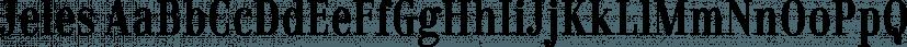 Jeles font family by Tour de Force Font Foundry
