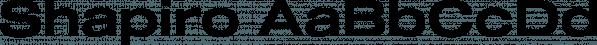 Shapiro font family by OGJ Type Design