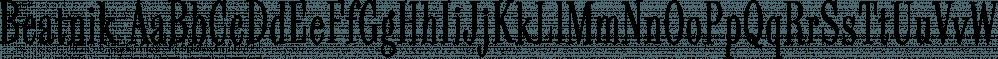 Beatnik font family by Type Innovations