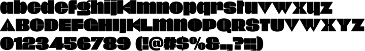 Onick Font Specimen