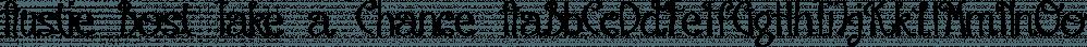 Austie Bost Take a Chance font family by Austie Bost Fonts