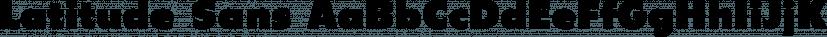 Latitude Sans font family by Stiggy & Sands