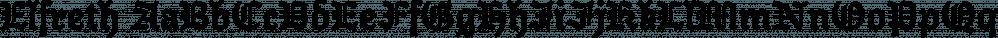 Elfreth font family by JTD