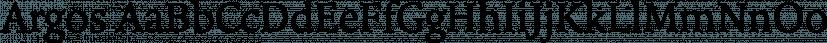 Argos font family by Hoftype