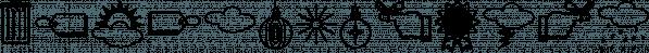 IngyDingMCD font family by Ingrimayne Type