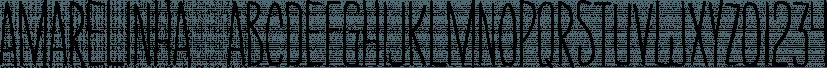 Amarelinha  font family by PintassilgoPrints