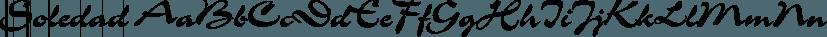 Soledad font family by FontSite Inc.