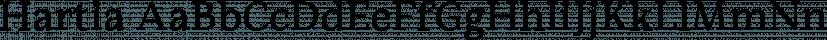 Hartia font family by Tour de Force Font Foundry