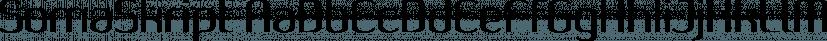 SomaSkript font family by ArtyType