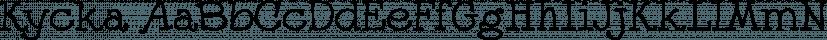 Kycka font family by Eurotypo