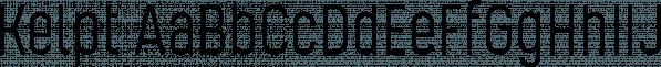 Kelpt font family by Typesketchbook