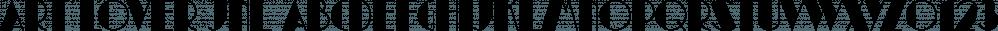 Art Lover JNL font family by Jeff Levine Fonts