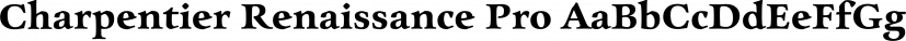 Charpentier Renaissance Pro font family by ingoFonts