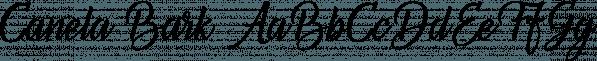 Canela Bark font family by Aring Typeface AB