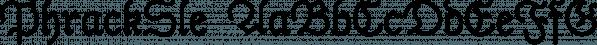 PhrackSle font family by Ingrimayne Type