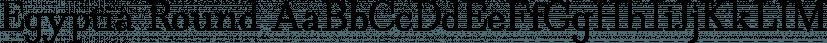 Egyptia Round font family by Wiescher-Design