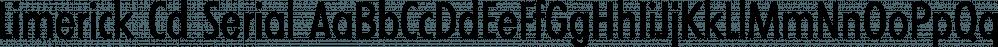 Limerick Cd Serial font family by SoftMaker