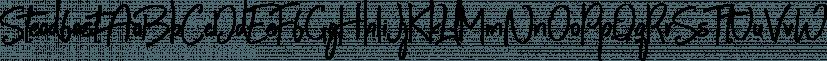 Steadfast font family by Mats-Peter Forss