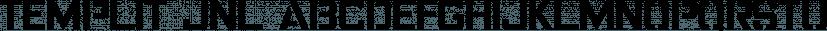 Templit JNL font family by Jeff Levine Fonts