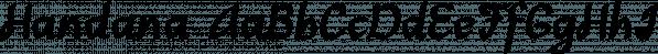 Handana font family by Ingrimayne Type