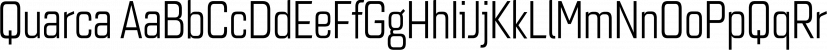 Quarca font family by Insigne Design