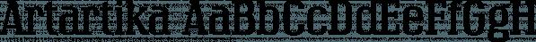 Artartika font family by Tour de Force Font Foundry