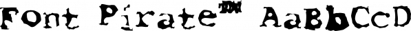 Font Pirate™ font family by MINDCANDY