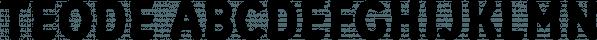 Teode font family by Lutastudio