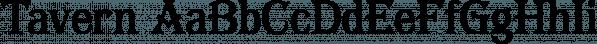 Tavern font family by FontMesa