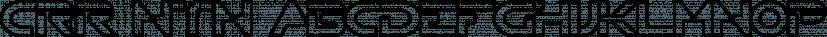 CRR NTN font family by Cerri Antonio