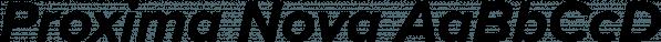 Proxima Nova font family by Mark Simonson Studio