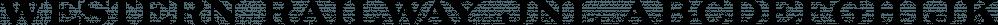 Western Railway JNL font family by Jeff Levine Fonts