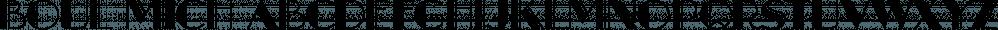 Boul Mich font family by Wordshape