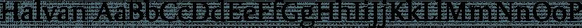 Halvan font family by driemeyerdesign