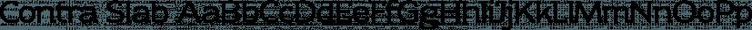 Contra Slab font family by Wiescher-Design