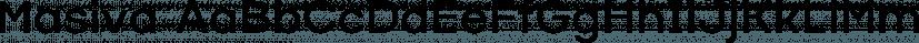 Masiva font family by Graviton