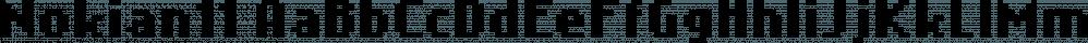 Nokian11 font family by GRIN3 (Nowak)