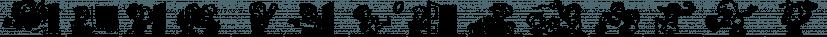Ink Spots JNL font family by Jeff Levine Fonts